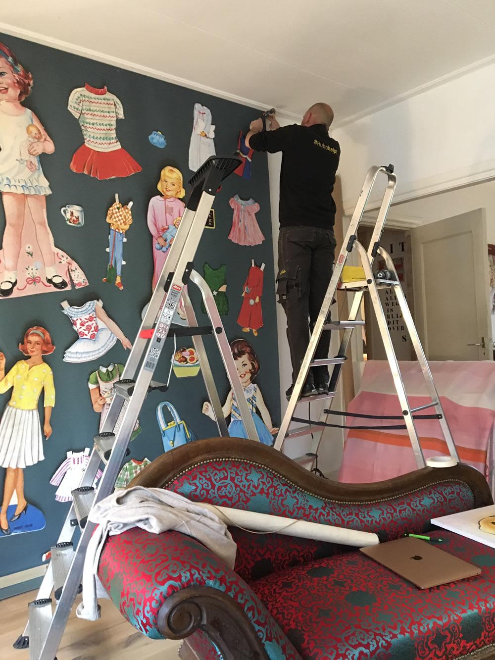 Brigit van der Werff - Behang